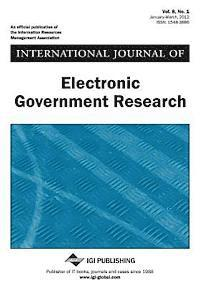 International Journal of Electronic Government Research, Vol 8 ISS 1 (inbunden)