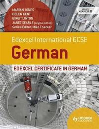 Edexcel International GCSE and Certificate German