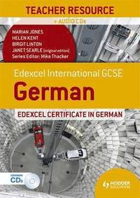Edexcel International GCSE and Certificate German Teacher