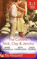 Coltons: Nick, Clay & Jericho: Colton's Secret Service / Rancher's Redemption / The Sheriff's Amnesiac Bride (Mills & Boon By Request) (The Coltons: Family First, Book 1)
