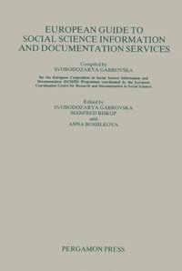 European Guide to Social Science Information and Documentation Services (e-bok)