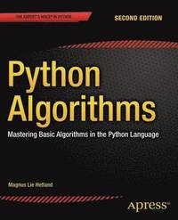 Python Algorithms (h�ftad)
