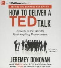 How to Deliver a TED Talk (inbunden)