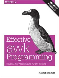Effective awk Programming (h�ftad)