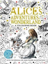 The Macmillan Alice Colouring Book (inbunden)