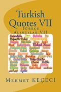 Turkish Quotes VII: Turkce Al NT Lar VII