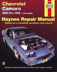 Chevrolet Camaro (1982-92) All Models Automotive Repair Manual (h�ftad)
