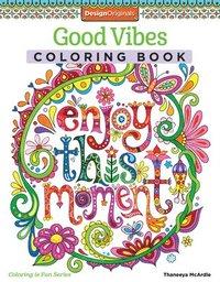 Good Vibes Coloring Book (häftad)