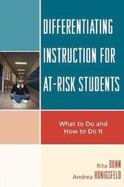 Differentiating Instruction for At-Risk Students (h�ftad)