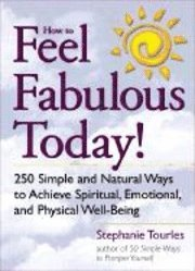 How to Feel Fabulous Today (h�ftad)