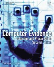 Computer Evidence: Collection and Preservation 2nd Edition Book/CD Package