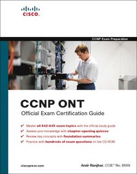 CCNP ONT Official Exam Certification Guide Book/CD Package