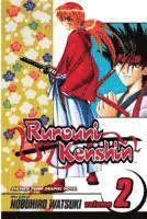 Rurouni Kenshin: v. 2 The Two Hitokiri (h�ftad)