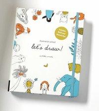 Illustration School: Let's Draw (h�ftad)