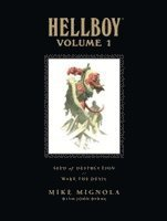 Hellboy Library: Volume 1 Seed of Destruction and Wake the Devil (inbunden)