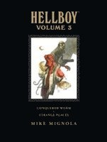 Hellboy Library Volume 3: Conqueror Worm and Strange Places (inbunden)