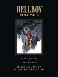 Hellboy Library Edition: Volume 5 Darkness Calls - the Wild Hunt (inbunden)