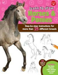 Learn to Draw Horses &; Ponies