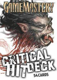 Gamemastery Critical Hit Deck New Printing (inbunden)