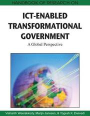 Handbook of Research on ICT-enabled Transformational Government (inbunden)