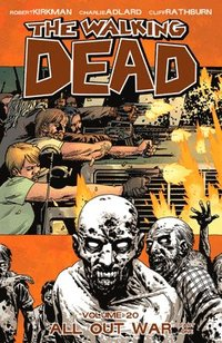 The Walking Dead Volume 20 - All Out War Part 1 (inbunden)