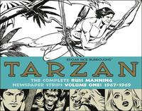 Tarzan: The Complete Russ Manning Newspaper Strips: Volume 1 1967-1969 (inbunden)