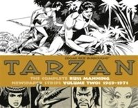 Tarzan: The Complete Russ Manning Newspaper Strips: Volume 2  1969-1971 (inbunden)