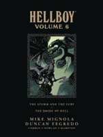 Hellboy Library Edition: Volume 6 (inbunden)