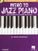 Intro to Jazz Piano (h�ftad)