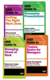 HBR Guides Collection (8 Books) (HBR Guide Series) (h�ftad)