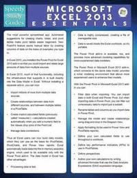 Microsoft Excel 2013 Essentials (Speedy Study Guide) (häftad)