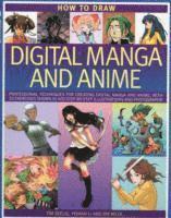 How to Draw Digital Manga and Anime (h�ftad)
