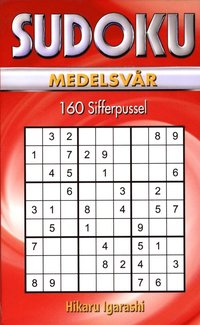Sudoku Medelsv�r R�d (pocket)