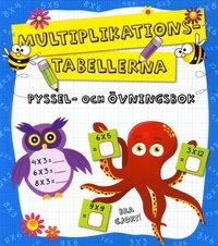 Multiplikationstabellerna : pyssel och �vningsbok (h�ftad)