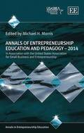 Annals of Entrepreneurship Education and Pedagogy - 2014