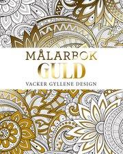 Målarbok GULD : vacker gyllene design