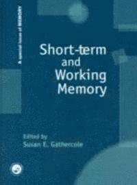 Short-term and Working Memory (inbunden)