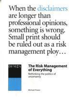 Risk Management Of Everything (h�ftad)