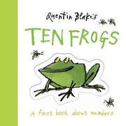 Quentin Blake's Ten Frogs (kartonnage)