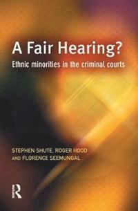 A Fair Hearing? (inbunden)