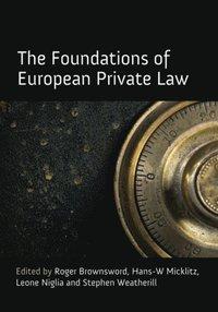 Foundations of European Private Law (e-bok)