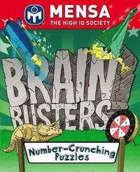 MENSA Brain Busters - Number Crunching Puzzles (h�ftad)