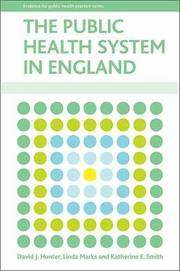 The Public Health System in England (inbunden)