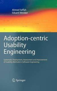 Adoption-centric Usability Engineering (inbunden)