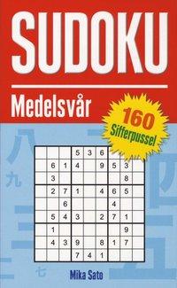 Sudoku Medelsv�r 160 sifferpussel (pocket)