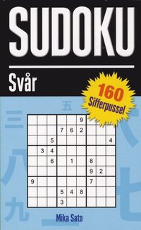 Sudoku Sv�r 160 sifferpussel (pocket)
