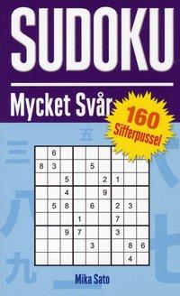 Sudoku Mycket Sv�r - Lila (pocket)