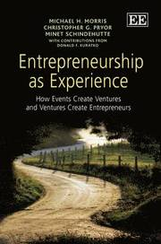 Entrepreneurship as Experience (inbunden)