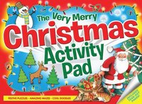 The Very Merry Christmas Activity Pad (h�ftad)