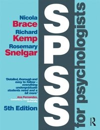 SPSS for Psychologists (h�ftad)
